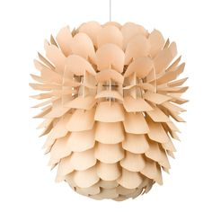 Zappy natural by Schneid.This lamp is hand manufactured from untreated, certified wood in Northern Germany.