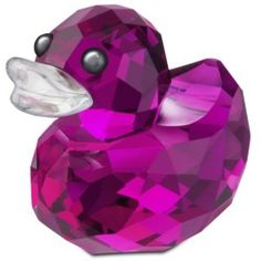 swarovski mini pink duck