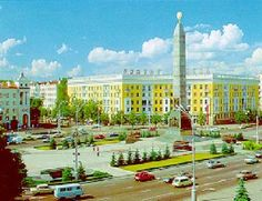 Lee Harvey Oswald in Minsk Part 1 Beautiful Places In The World, Places Around The World, Travel Around The World, Around The Worlds, Amazing Places, Republic Of Belarus, Minsk Belarus, Historical Architecture, City Photography
