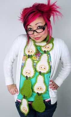 i need one of twinkie chans food scarves in my life