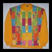 Patchwork Sweatshirt Jacket