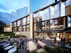 Gateway Creates Fresh New Frontage for Circular Quay – Commercial Shopping Mall Architecture, Retail Architecture, Commercial Architecture, Mix Use Building, High Building, Building Facade, Retail Facade, Shop Facade, Shopping Street
