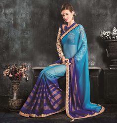 Designer Pakistani Wedding Sari New Ethnic Partywear Saree Indian Bollywood 6100…