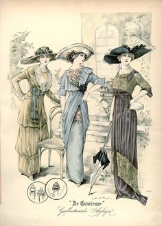 Gracieuse. Geïllustreerde Aglaja, 1912, aflevering 12, pagina 20/3