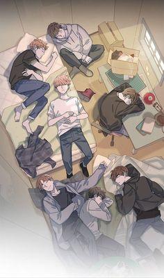 The BTS comic, posted from Webtoon by translated… novel # Youth Novel # amreading # books # wattpad Bts Chibi, Foto Bts, Bts Photo, Anime Wolf, Bts Taehyung, Bts Jimin, Bts Manga, Manga Anime, Fanart Bts