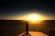 Esperança no futuro, nascer do sol