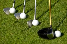 Learn the proper way to address and setup on the golf course. Take your driving range practice to the course. http://www.golfinred.com/golf-ball-position-is-fundamental-at-address/