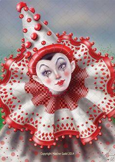 Jesters Maxine Gadd published fairy fantasy artist
