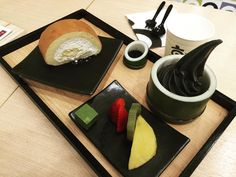 Kyo Roll set #kaiseki #dessert by pankridakorn