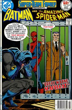 """Super-Team Family: The Lost Issues!: Batman and Spider-Man in """"Bruce Wayne: Scapegoat!"""""""