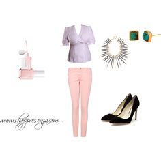 Summer Nude, created by shoppresenza on Polyvore    #fashion #style  $98