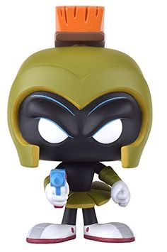 From Duck Dodgers Marvin Martian as a stylized POP vinyl from Funko! Figure stands 3 3/4 inches and comes in a window display box. Check out the other Duck Dodgers figures from Funko! Collect them a...