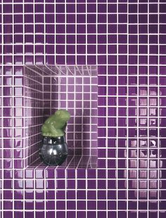 CRYSTAL #MOSAIC by @Marazzi #colour #bathroom
