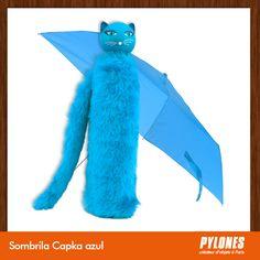 #Sombrilla Chapka azul @pylonesco Pylones Colombia #navidad #regalos #pylones #noviembre — en Colombia.