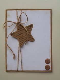 Karten gestalten/ Cards A Pursuit For The Nose Take note, when you buy a perfume bottle most of the Christmas Card Crafts, Homemade Christmas Cards, Christmas Cards To Make, Homemade Cards, Handmade Christmas, Holiday Cards, Merry Christmas, Star Cards, Marianne Design