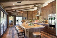 Beautiful residential kitchen featuring custom concrete countertops.  Great interior design!  Paradise Concrete Tucson, AZ