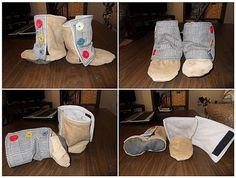 Tuto chausson botte