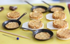Work in Progress - Miniature Crepes / Pancakes by PetitPlat - Stephanie Kilgast, via Flickr