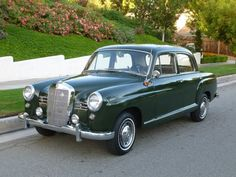 1957 Mercedes-Benz 180D Ponton