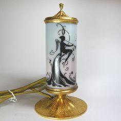 DeVilbiss Perfume Lamp 1925 -27 from marshacraftsantiques on Ruby Lane