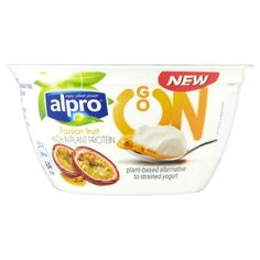 Yogurt    Go On High In Plant Protein- Passion Fruit