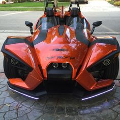 Tric Led lights on My Slingshot - Pictures and review | Polaris Slingshot Forum