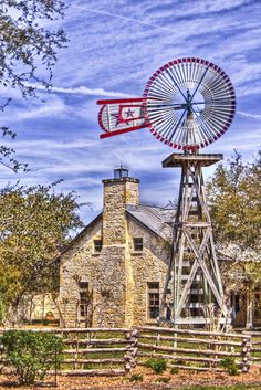 Farm building in Texas by Michael Braxenthaler. Photo taken in Northside, San Antonio, TX, USA