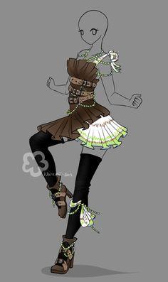 Outfit Design Auction - closed by Nahemii-san.deviantart.com on @DeviantArt