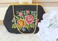 Vintage Gobelin Tasche Original von *Coco Mademoiselle* auf DaWanda.com