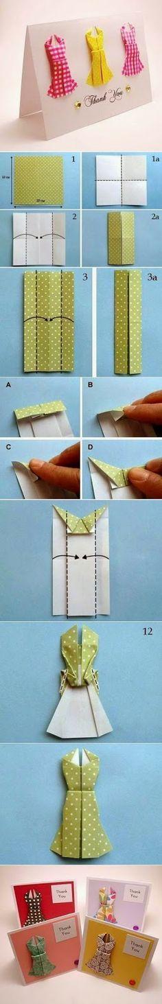 mini vestidos de papel