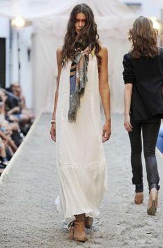 Boho catwalk