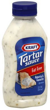 Tartar Sauce... it's bet to make this homemade (or find a more flavorful brand)... this image is here just for pictorial representation only... but, I use it with every kind of seafood (oysters, shrimp, fish, imitation crab)...