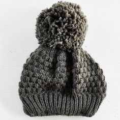 Urban Outfitters BDG Beanie Oversized Pom Pom BDG beanie from Urban Outfitters. Fleece lined. Barely worn. Urban Outfitters Accessories Hats