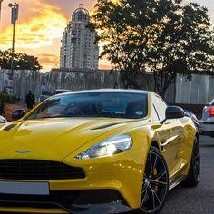 Aston Martin Vanquish in my favorite color!!!!!!