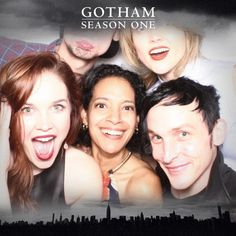 Gotham Wrap Party. Fox. Robin Lord Taylor. Oswald Cobblepot.