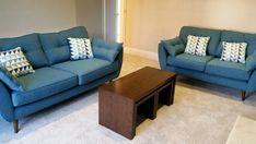 teal sofa on pinterest teal couch living room and blue. Black Bedroom Furniture Sets. Home Design Ideas