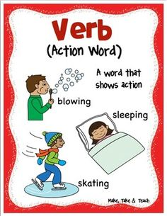 FREE parts of speech posters! Teaching Reading, Teaching Ideas, Teaching Materials, Teaching Resources, Learning, Classroom Posters, Education Posters, Classroom Decor, Nouns And Verbs