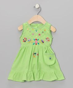 Take a look at this Tender Shoots Leonor Dress - Infant, Toddler & Girls by Little Cotton Dress on #zulily today!
