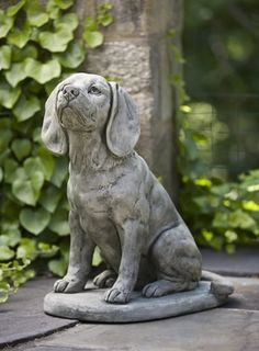 Scout, the trusty dog to add as a garden statue. http://dteliving.com/