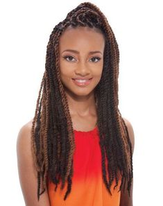 Janet Collection Synthetic Hair Braids Noir Afro Twist Braid (Marley Braid) Noir Afro Twist braid is made of Kanekalon packs for a full head Marley Twist Hairstyles, Short Weave Hairstyles, Cool Braid Hairstyles, Braided Hairstyles, Fancy Hairstyles, 1930s Hairstyles, Modern Hairstyles, African Hairstyles, Hairstyle Ideas