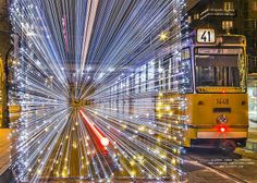 Funny pictures about Thousands Of LED Lights Make These Trams Look Like Time Machines. Oh, and cool pics about Thousands Of LED Lights Make These Trams Look Like Time Machines. Also, Thousands Of LED Lights Make These Trams Look Like Time Machines photos.