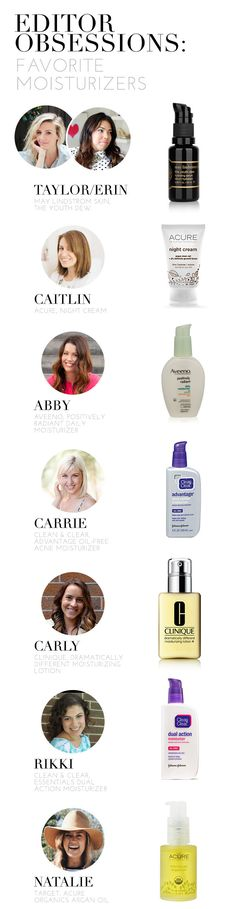 Editor Obsessions: Favorite Moisturizer