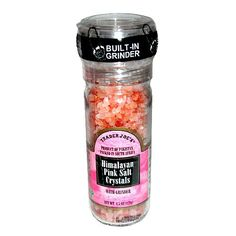 Trader Joe's Himalayan Pink Salt Crystals with Built in Grinder Natural and Pure Use in Any Dish You Would Use Regular Salt - http://spicegrinder.biz/trader-joes-himalayan-pink-salt-crystals-with-built-in-grinder-natural-and-pure-use-in-any-dish-you-would-use-regular-salt/