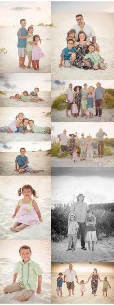 Lido Beach Family Portraits