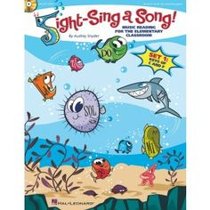 Sight Reading Book for Elementary Music Classes - can't wait to check it out.