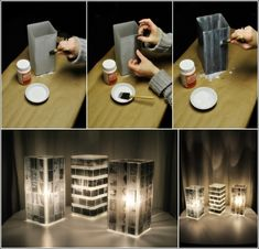 Turn Old Photo Negatives into an Amazing Lamp.... I still remember rolls of film #35mm