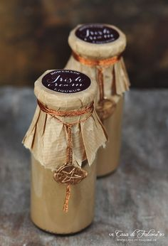 Homemade Irish cream I hausgemachter Espressolikör I Geschenke aus der Küche I homemade gift I Casa di Falcone