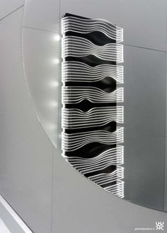 Radiator Light Fixtures - The James di Marco SHINE is a Futuristic LED-Illuminated Heating System (GALLERY)