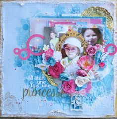 Vidéo: page Mixed Media Princesse http://www.carterieartisanale.com/blog/2014/07/30/video-page-mixed-media-princesse/