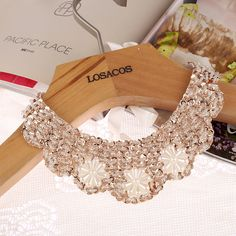 $1.89// Collar Necklace with Ribbon Tie// Delivery: 2-4 weeks